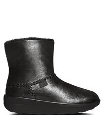 Mukluk black shimmer boots