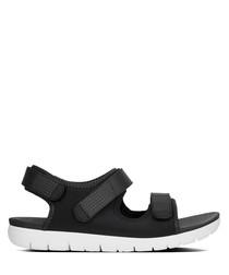 Neoflex black back-strap sandals