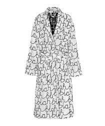 Blahblah white bathrobe
