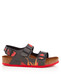 Kids' Milano dragon fire sandals