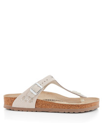Gizeh beige regular fit sandals