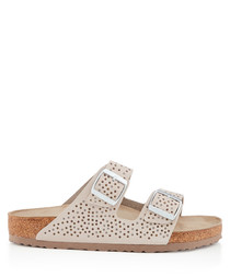 Arizona beige crafted sandals
