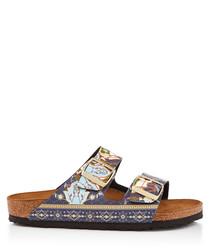 Arizona ancient mosaic sandals