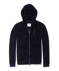 Nico navy cotton blend hoodie