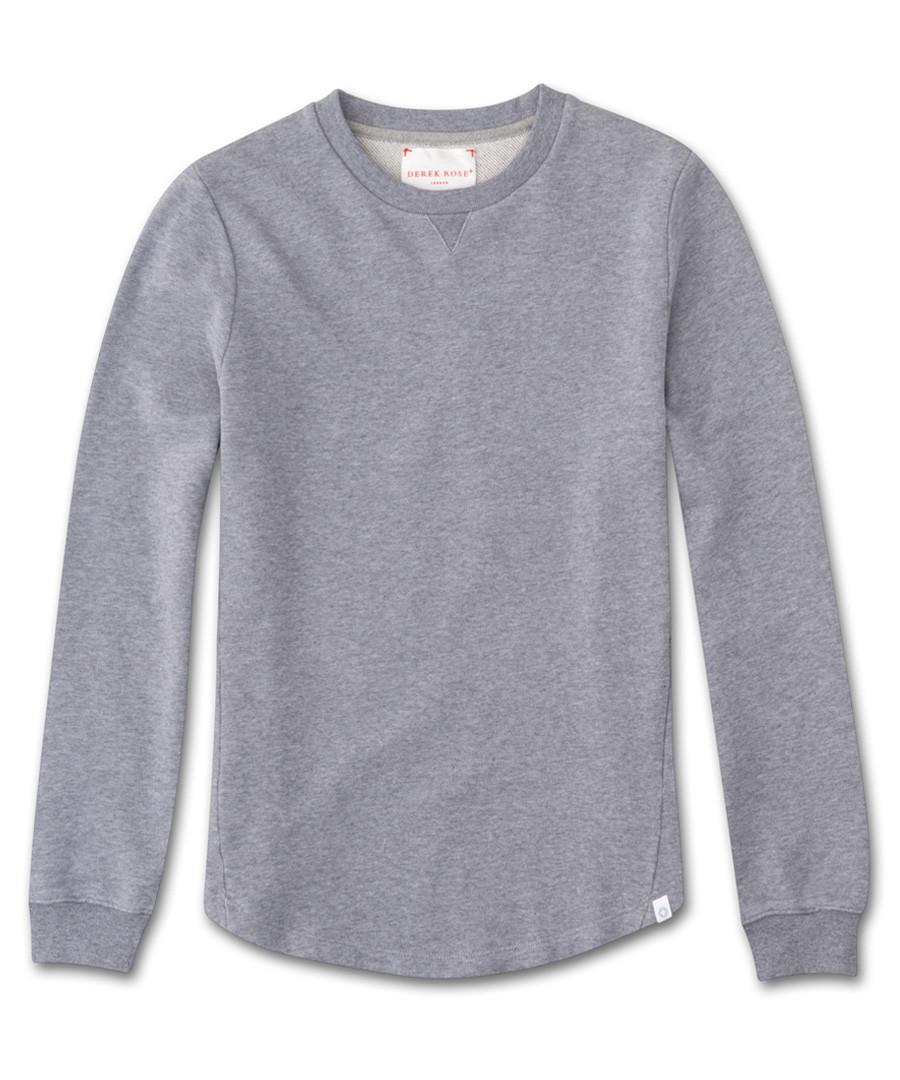 Devon silver-tone sweatshirt Sale - derek rose