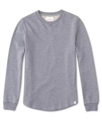Devon silver-tone sweatshirt