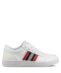 Court Clarkson white leather sneakers