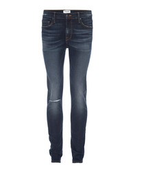 L'homme blue skinny jeans