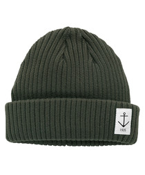 Black pure cotton beanie