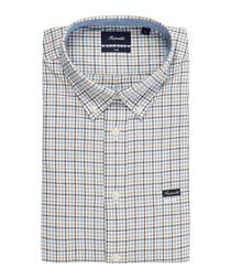 Club multi-coloured button-down shirt