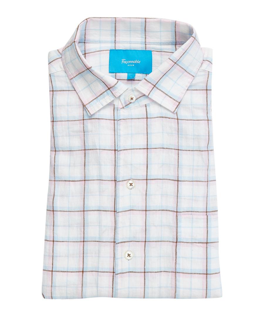 Club multi-coloured checked shirt Sale - Façonnable