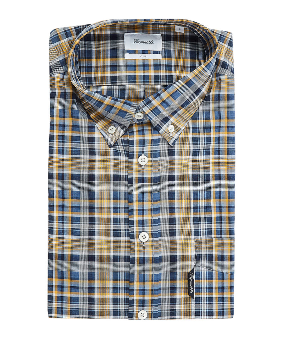 Club multi-coloured button-down shirt Sale - Façonnable