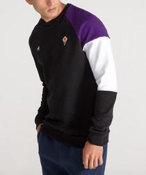 Fiorentina black crew neck sweatshirt