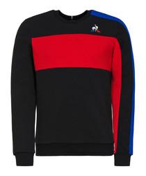 Tricolore logo jumper