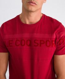 Graphique red dahlia logo T-shirt