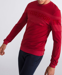 Graphique red dahlia logo sweatshirt
