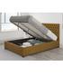 Nightingale ochre double ottoman bed Sale - aspire furniture Sale