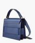 Gigi blue leather grab bag Sale - Salar Sale