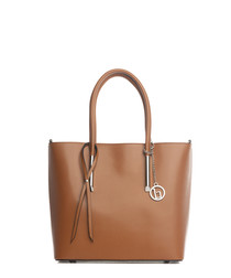 Mallero cognac leather shoulder bag