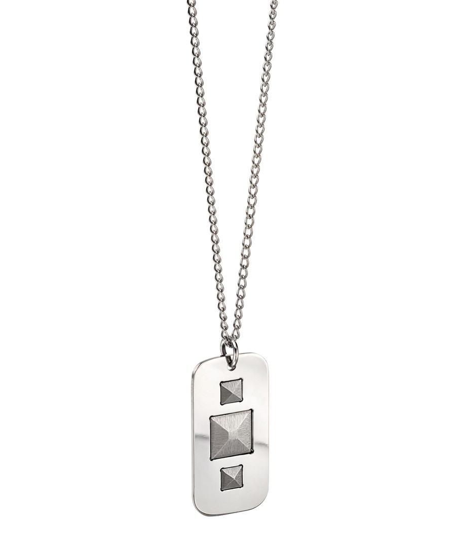 Silver-plated stud necklace Sale - fred bennett