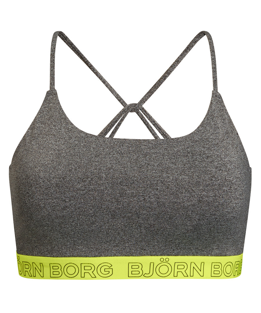 Seasonal solids grey bra Sale - bjorn borg