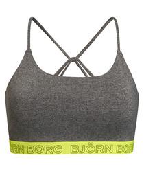 Seasonal solids grey bra