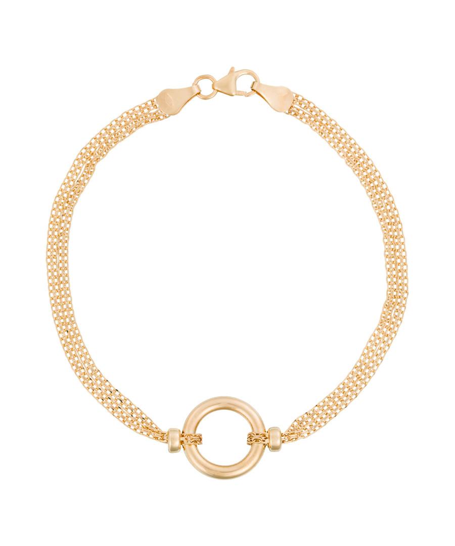 Rounda 9k yellow gold bracelet Sale - diamond & co.