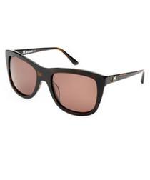 Tortoise & brown oversized sunglasses