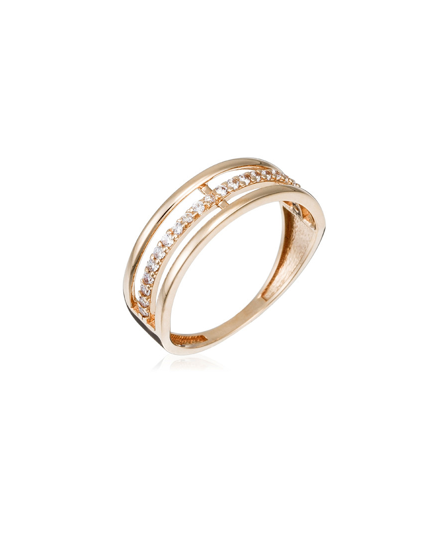 Aurore rose gold ring Sale - or eclat