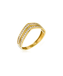 Sortilège yellow gold ring
