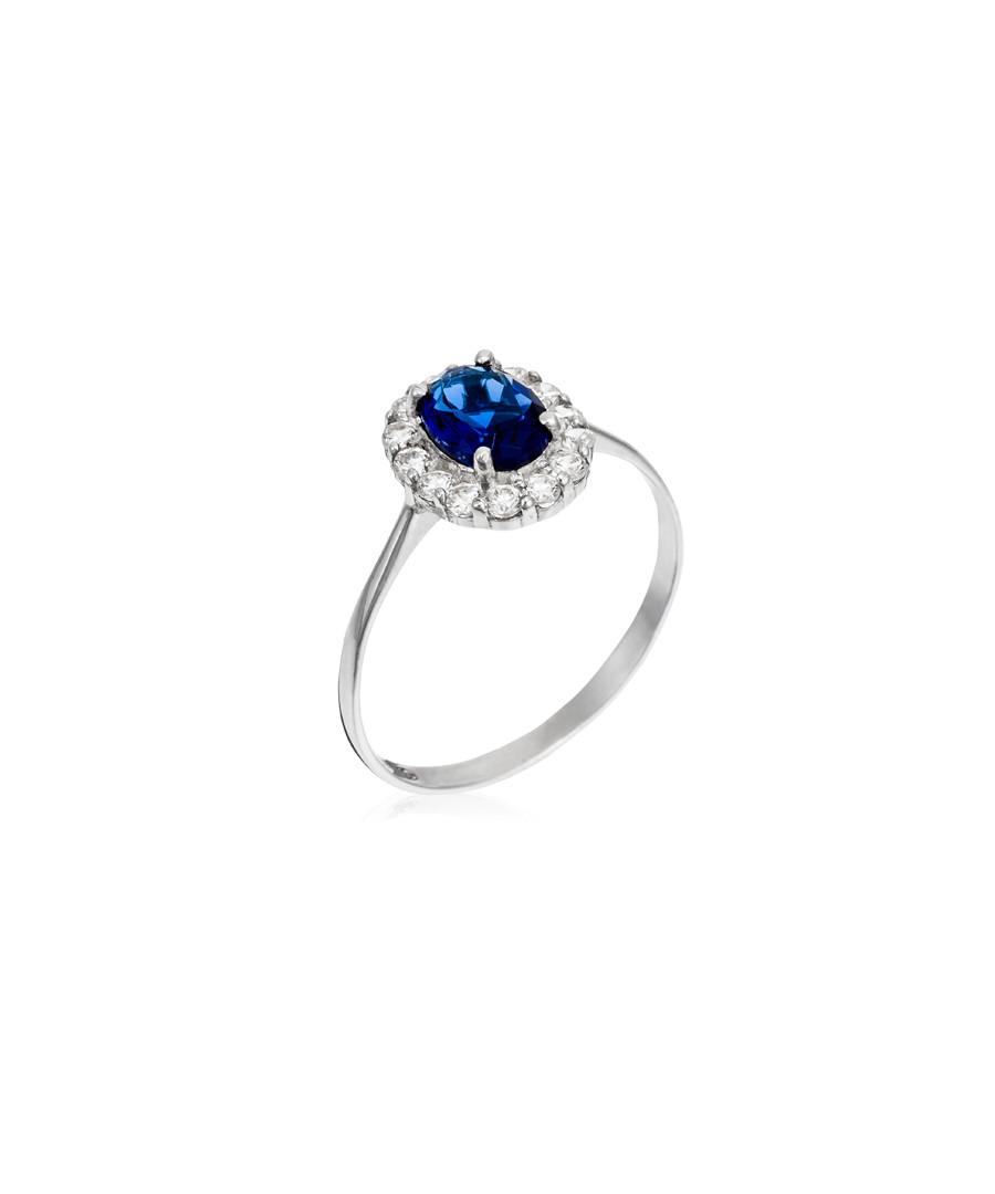 Bleu merveilleux white gold ring Sale - or eclat