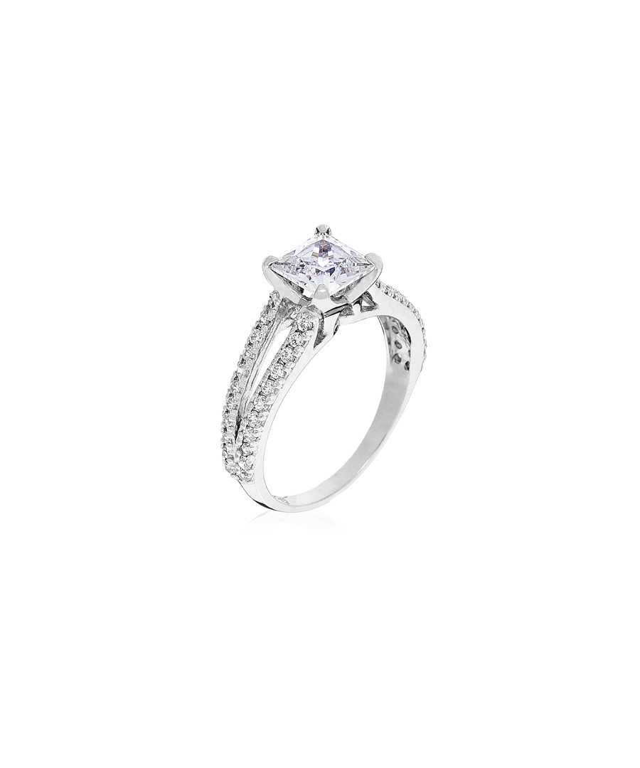 "Ring ""Destinée"" white gold & zirconium Sale - or eclat"