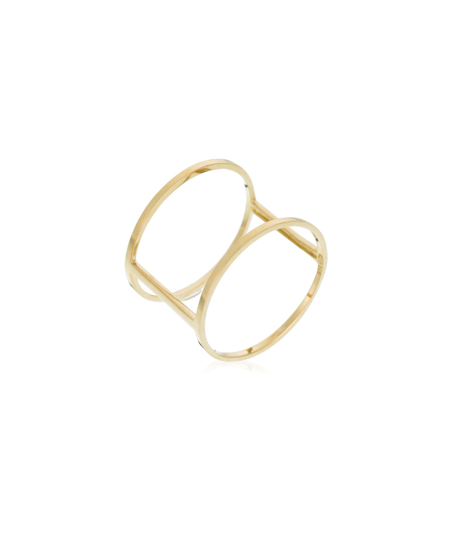 Jolie Cage Dorée yellow gold ring Sale - or eclat