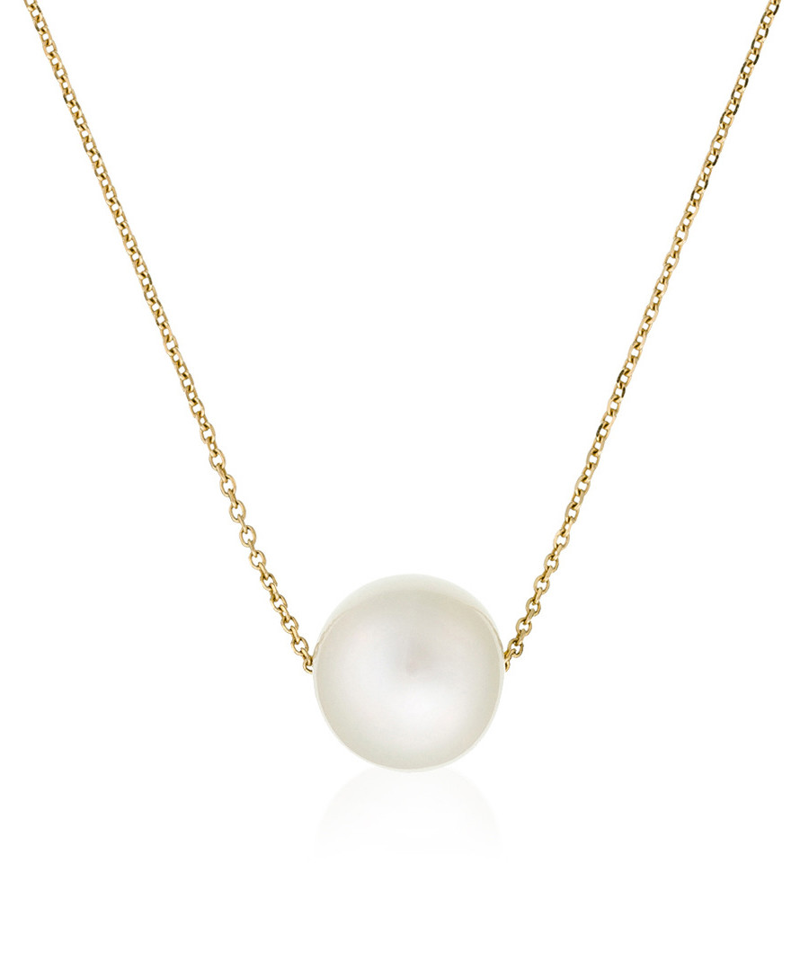 Single pearl yellow gold necklace Sale - or eclat