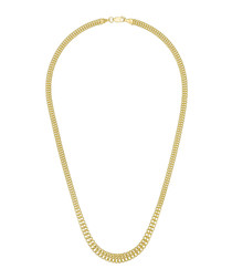 Maille Valparaiso yellow gold necklace