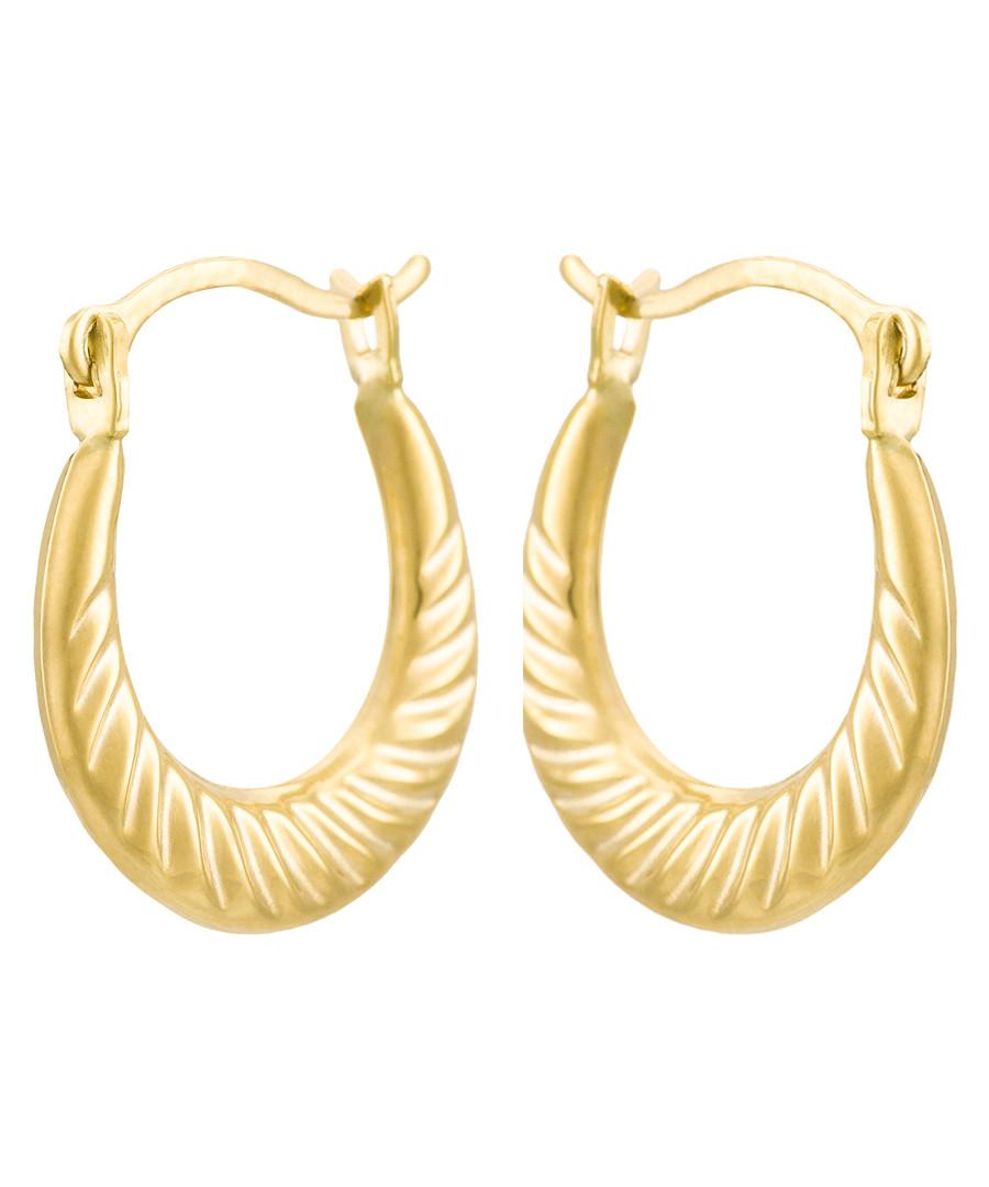 Créoles Jolies yellow gold earrings Sale - or eclat