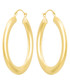 Créoles Malta yellow gold hoop earrings Sale - or eclat Sale