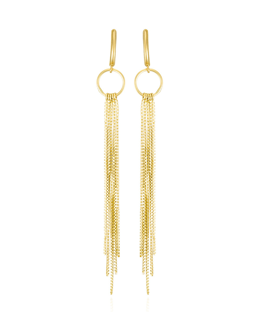 Cascade yellow gold drop earrings Sale - or eclat