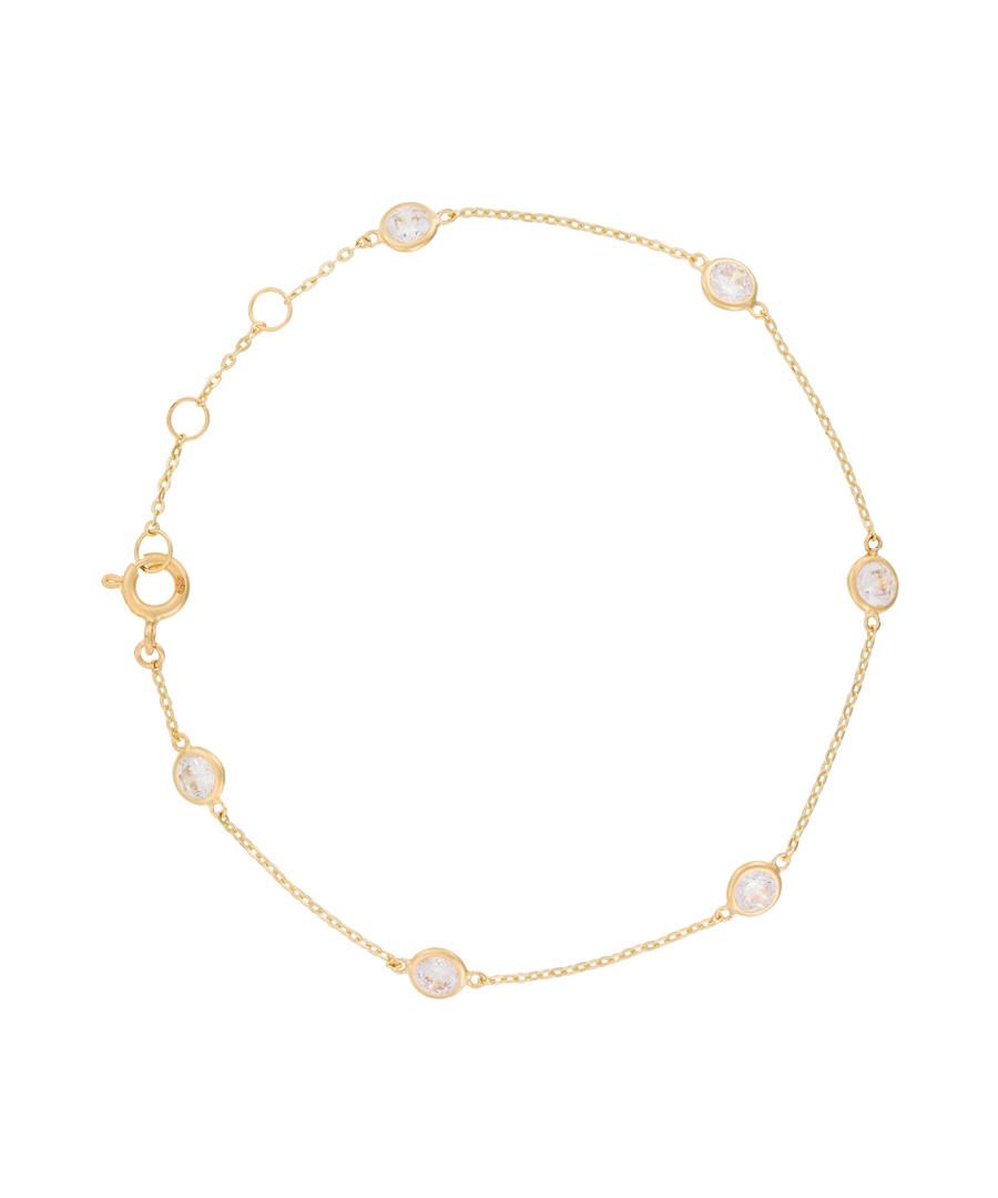 Pas à Pas yellow gold bracelet Sale - or eclat