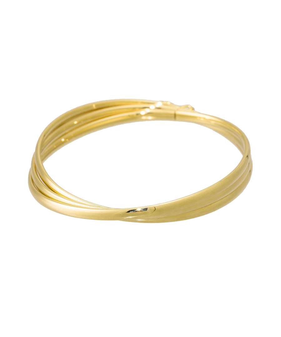 Trio d'or yellow gold bracelet Sale - or eclat
