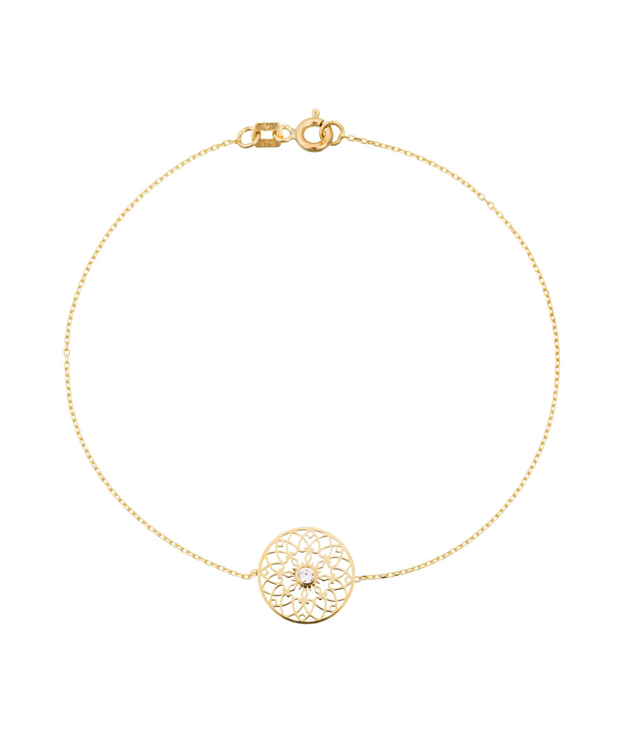 Soleil d'or yellow gold bracelet Sale - or eclat