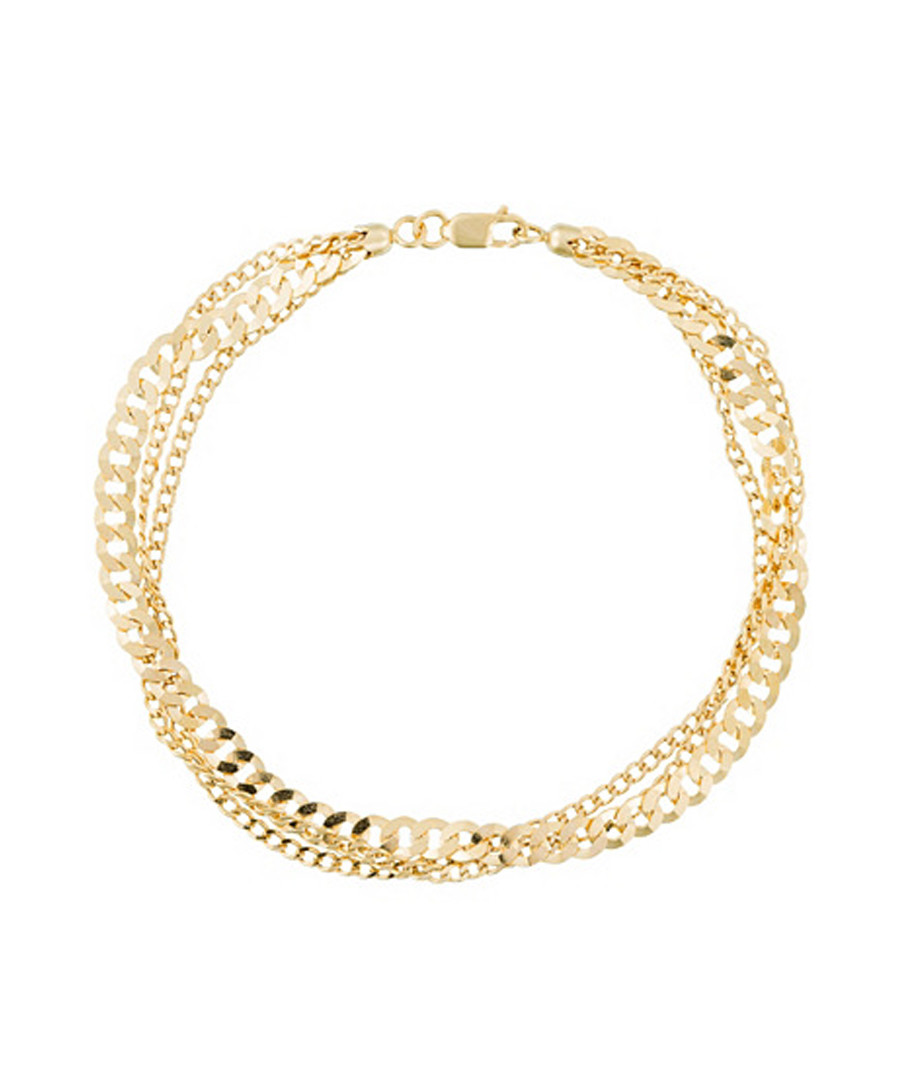 Coya yellow gold chain bracelet Sale - or eclat