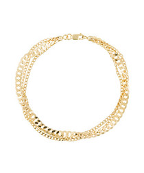 Coya yellow gold chain bracelet