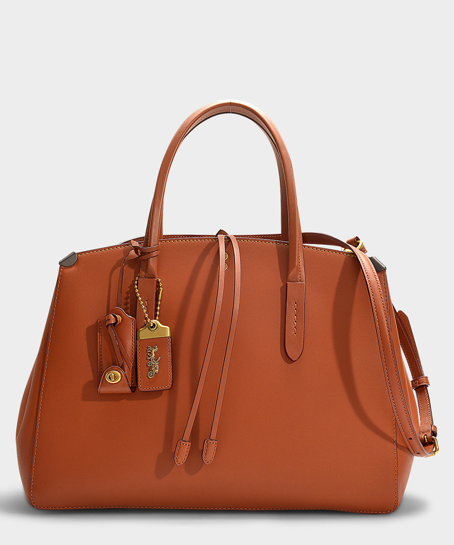Cooper brown 1941 leather bag Sale - Coach