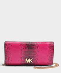 Mott Large East/West pink bag