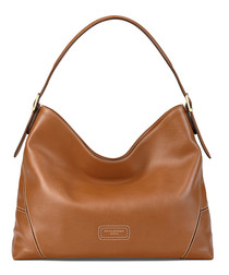 A Hobo tan smooth leather grab bag