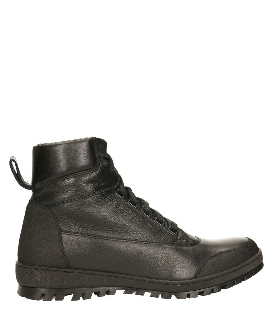 Black leather lace-up boots Sale - gino rossi