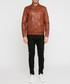 Joe cognac leather jacket Sale - giorgio & mario Sale