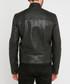 Oliver black leather jacket Sale - giorgio & mario Sale
