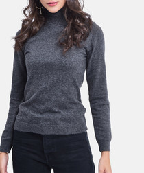 Loup cashmere blend high neck sweater